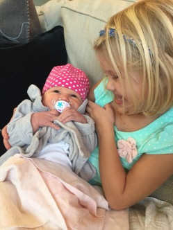 Laney Grace, you couldn't be a more proud big sister.