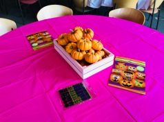 Pink and Gold Pumpkin Party
